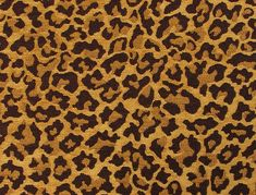 """58""""x1 yard leopard printed poly cotton fabric sold by yard"""
