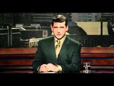 Evan Baxter povero anchorman umiliato da Jim Carrey: facile, trattandosi di Dio (da 'Bruce Almighty', meglio noto come 'Una settimana da Dio', per l'appunto).