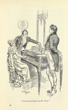 Charming 19th Century Illustrations Of Jane Austen's Works Released For Your Swooning Pleasure | The Mary Sue