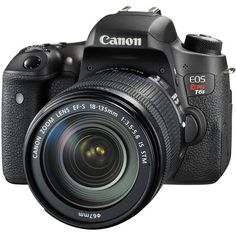 Canon EOS Rebel T6s DSLR Camera with 18-135mm Lens 0020C003 B&H                                                                                                                                                                                 More