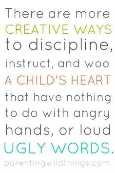 Discipline right.