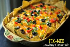 Print PDF     This is one of our favorite 'Tex-Mex' Casseroles! It is easy and a great one to prep ahead of time! I remember when my little ones were babies and having a list of recipes that I could prep during nap time then just pop in the oven at dinner …