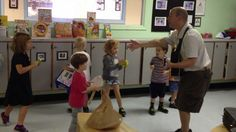 Mr. Greg's Musical Madness - Kids play thier OWN Recycled Instruments in class!
