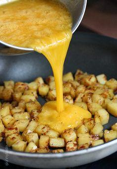 Bell Pepper and Potato Frittata | Skinnytaste