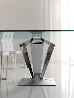 glass table pedestals interesting design dining room table bases cool rectangle…