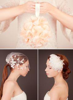 Great accessoires by SIBO Designs!! #haarschmuck #schleier #fascinators #headbands
