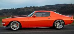This 1971 Orange RS Super Camaro Pro Touring Resto Mod it's a fine example of classic looks, with just the right amount of upgrades. First impressions you see a stock '71 Camaro RS. On further investigation, the upgrades become apparent. A 2014 LS3 all-aluminium 376ci. Small block V8, producing 575HP. A custom billet 8 stack …
