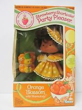 Vintage Strawberry Shortcake Doll-Party Pleaser * Orange Blossom with Marmalade