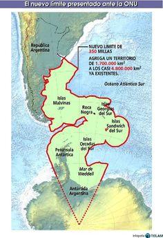 nueva plataforma continental argentina - Buscar con Google