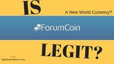 Is Forum Coin Legit? | - HIGHLANDER MONEY