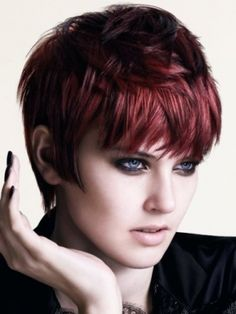 New Season Short Haircut Trends 2012 - Keep an eye on the new season short haircut trends 2012 and plan your next beauty update with care. Pick your fave hair design and hit the beauty salon for a voguish makeover.