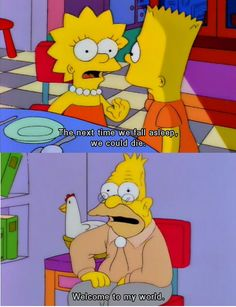 Why I love The Simpsons.   http://ift.tt/1UvRI18 via /r/funny http://ift.tt/1pSqR2z  funny pictures