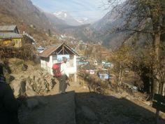 Tosh village, himachal pradesh, india.