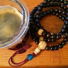 Mason jars & Mala Beads cause we multicultural #inthahood  Littlebitofthhisandalittlebitofthatville
