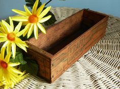 Old Primitive Wood KraftPhenix Cheese Box.
