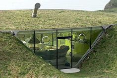 earth sheltered homes | advantages of underground housing are saving on energy bills, shelter ...