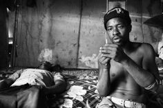 © Lindokuhle Sobhekwa Meet Lindokuhle Sobhekwa, the talented 19 year old photographer behind the Nyaope series that were shown during the NMAG pop-up gallery in Cape Town. Nyaope is a street drug, a mix of ARVs and other drugs, that ruins the lives of too many young South Africans. Sobhekwa, documented a group users on their daily basis. All pictures from the Nyaope series are available for purchase at No Man's Art Gallery C-print on semi-matte archival paper, 30 x 45 cm € 210,- Eugene Richards, Helen Levitt, South African Art, Robert Frank, Vivian Maier, All Pictures, Che Guevara, Art Gallery, Meet