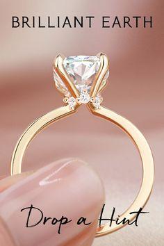 Beautiful Engagement Rings, Beautiful Rings, Ring Verlobung, Dream Ring, Cute Jewelry, Jewlery, Diamond Are A Girls Best Friend, Engagement Ring Settings, Diamond Rings