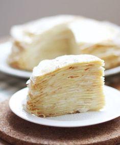 Easy Vanilla Crepe Cake Recipe