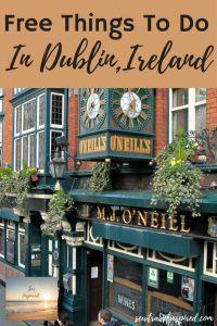 Free Things To Do in Dublin, Ireland