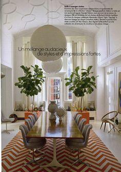 Jonathan Adler :: Interior Design--dining