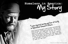 Thuisloos in Nederland..... Zoveel verhalen....achter elk mens schuilt een verhaal