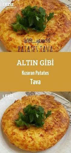 Altın Gibi Kızaran Patates Tava – Leziz Yemeklerim – Kahvaltılıklar – Las recetas más prácticas y fáciles