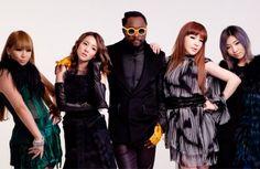 "will.i.am unveils official album tracklist including ""Gettin' Dumb"" feat. 2NE1"