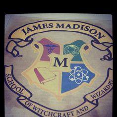 JMU, James Madison university, Harry potter