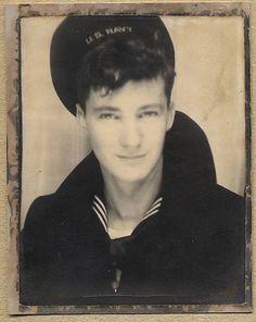 Sailor. Photo Booth-1940's. Men in Uniforms.