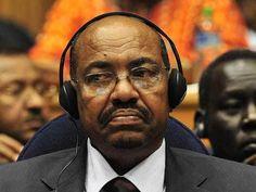 Omar al-Bashir, presidente do Sudão  Genocida