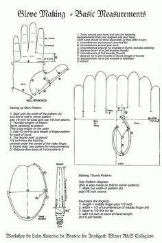 glv Glove measurements.gif (531×797)... How to pattern gloves to a hand #SCA #sewing