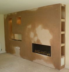 Afbeeldingsresultaat voor how to make a false chimney breast to house a tv and electric fire