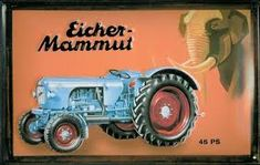 Eicher Tractor Search For Flights Rare Pin Badge Other