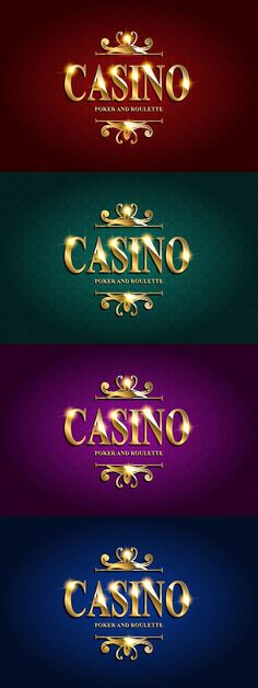 Casino Poster Background. 4 cards. Sport Icons. $6.00