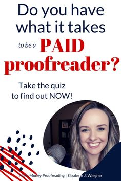 Do you have what it takes to be a paid proofreader? Take the quiz and find out in 5 easy questions! Earn Money From Home, Make Money Blogging, Saving Money, How To Find Out, How To Make Money, Earn Extra Cash, Proofreader, What It Takes, Financial Tips