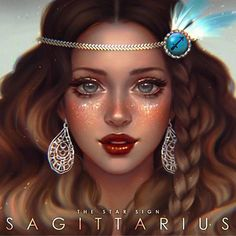 """(REPOST-Changed the eye color) Any Sagittarius here? ♐  #serazodiacs """"Truth seekers, adventurers, lovers of travel, Sagittarius individuals are fun loving and a good company. Independence is Sagittarius' principle, they crave adventure and excitement and welcome change with open arms.  The Element associated with Sagittarius is Fire."""" ---------------- Since Sags adored freedom and travelling, I thought of the Bohemian style. I used the birth color Blue and the birthstone Topaz for her…"""