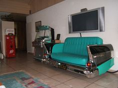 Drive it home!  Route66 store - car couch