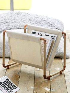 DIY Projects And Ideas For Magazine Holders Designs