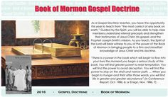 Book of Mormon Gospel Doctrine Lesson Helps