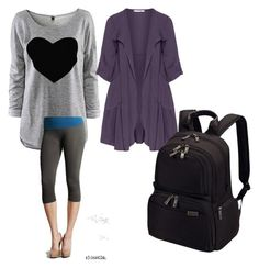 Sarcoidosis Awareness Month Day 2 by kim-lockett on Polyvore featuring polyvore fashion style Oliver Jung Nikibiki Victorinox Swiss Army clothing
