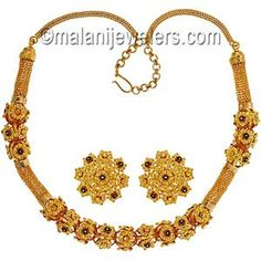 Gold Necklace Sets Bridal Patta Haar Online Jewelry Indian Jewellery