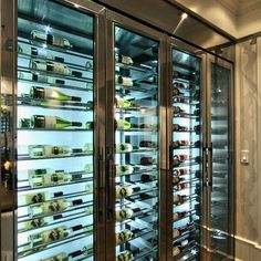 beautiful custom built wine fridge - Built In Wine Fridge