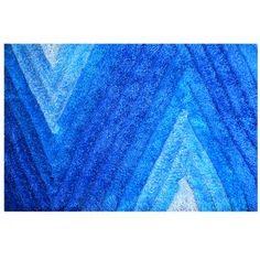 Compra Alfombra Con Diseño De Rayas En Color Azul Home Living - 7346 online   0c6dcf3722c