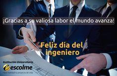 @Escolmeeduco #momentosESCOLME ¡Feliz día a todos los ingenieros!