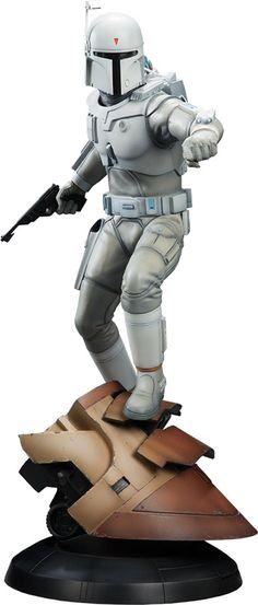 Star Wars Ralph McQuarrie Boba Fett Statue by Sideshow Colle Star Wars Room, Star Wars Art, Star Trek, Diesel Punk, Star Wars Characters, Star Wars Episodes, Stargate, Cyberpunk, Figuras Star Wars