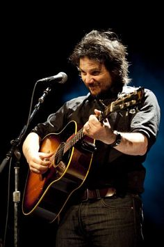 Jeff Tweedy - brilliant leader of alt country bands Uncle Tupelo and Wilco.