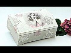 Decoupage Napkin on Wooden Box - Ντεκουπαζ με Χαρτοπετσέτα σε ξύλινο Κουτί - Craft by Debi - YouTube
