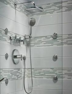 overhead rain shower head with handheld. Image result for separate rain shower head Rainshower system  Now that is a Pinterest