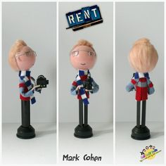 Mark Cohen Peg Doll RENT the MUSICAL by FaBi DaBi by totallyfabi